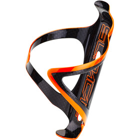 Supacaz Fly Cage Carbon Flaskeholder, neon orange